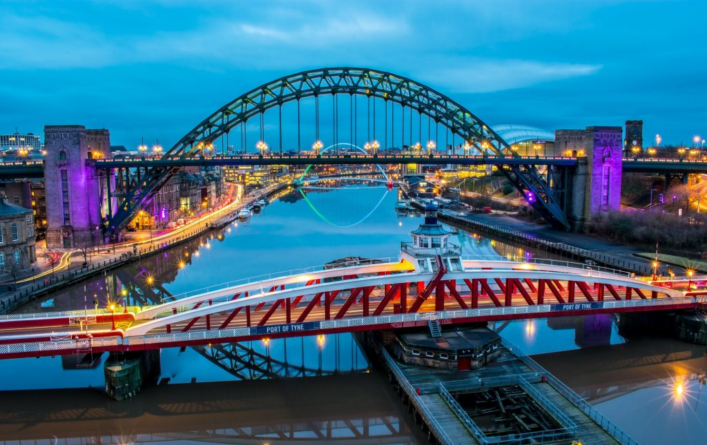 Bridges over the Tyne